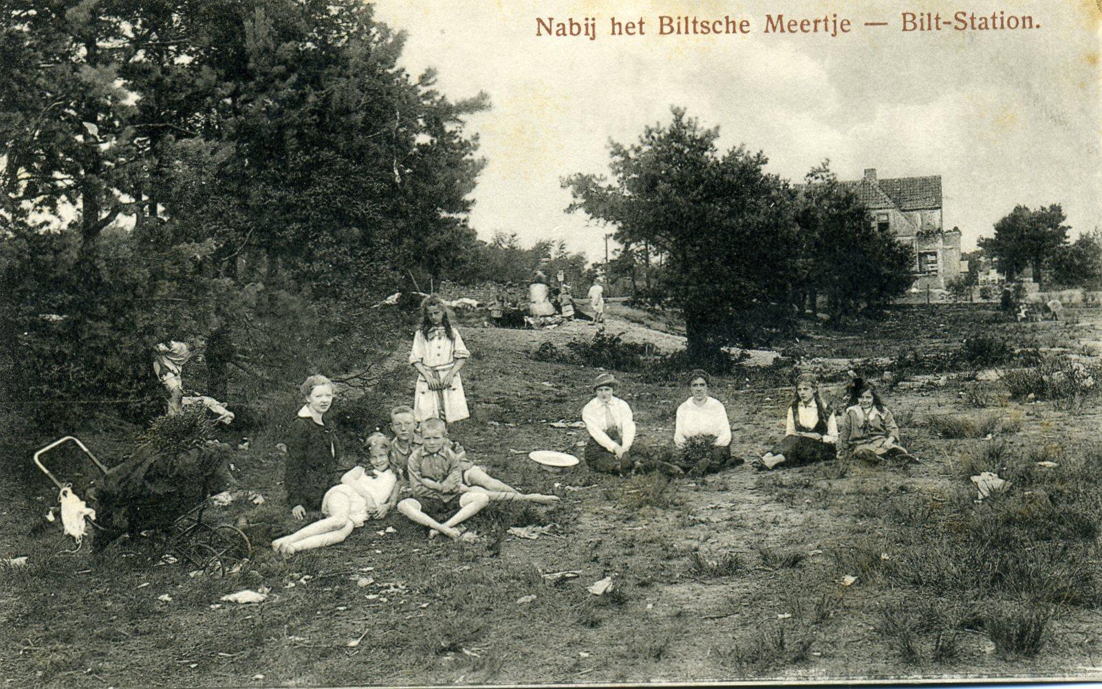 1917 Het oude Biltsche Meertje